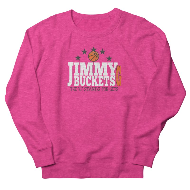 Jimmy G. Butler Men's French Terry Sweatshirt by HIDENbehindAroc's Shop