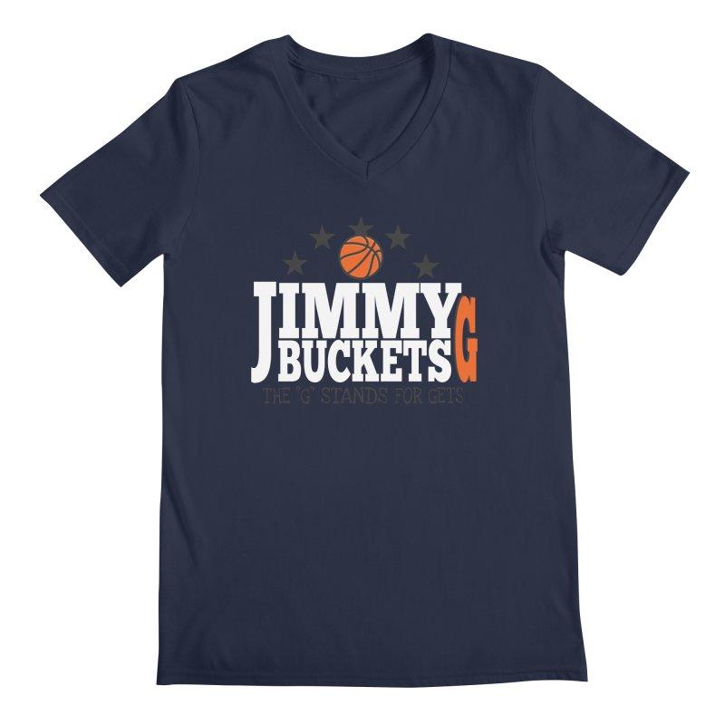 Jimmy G. Butler Men's V-Neck by HIDENbehindAroc's Shop