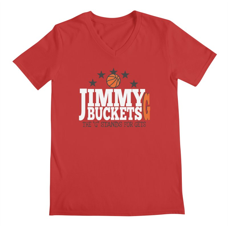 Jimmy G. Butler Men's V-Neck by HIDENbehindAroc's Shop