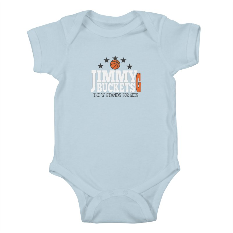 Jimmy G. Butler Kids Baby Bodysuit by HIDENbehindAroc's Shop