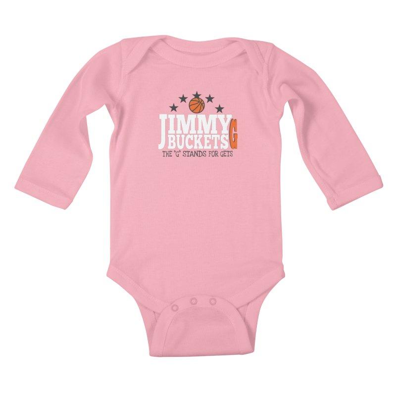 Jimmy G. Butler Kids Baby Longsleeve Bodysuit by HIDENbehindAroc's Shop