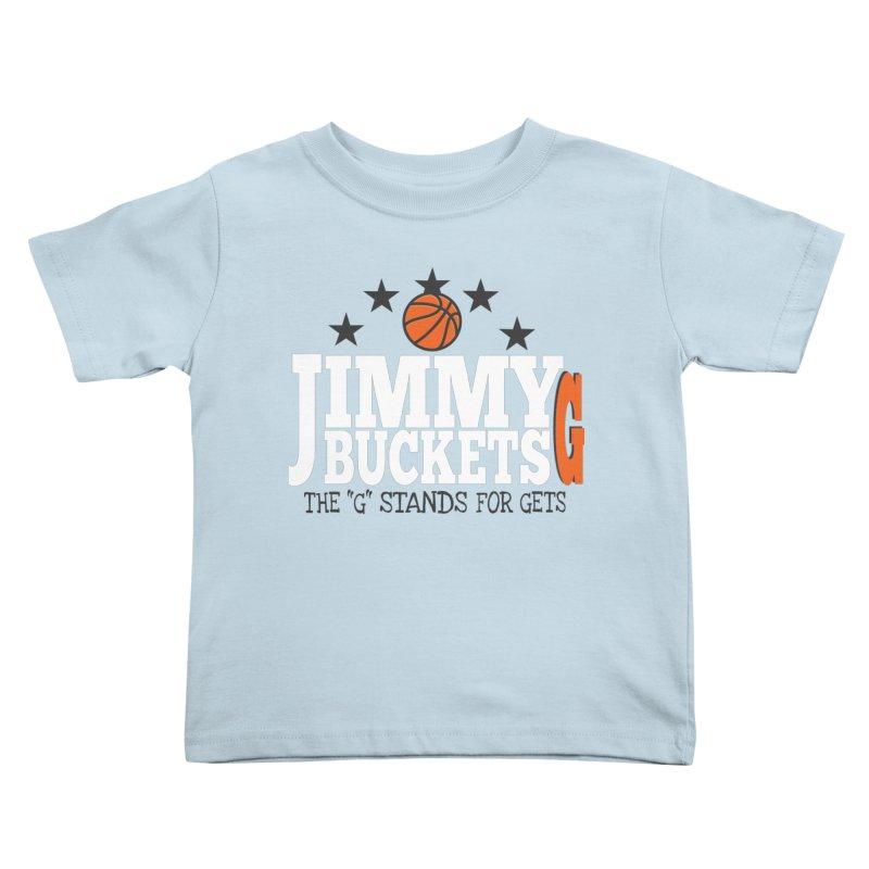 Jimmy G. Butler Kids Toddler T-Shirt by HIDENbehindAroc's Shop