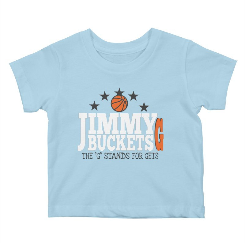 Jimmy G. Butler Kids Baby T-Shirt by HIDENbehindAroc's Shop