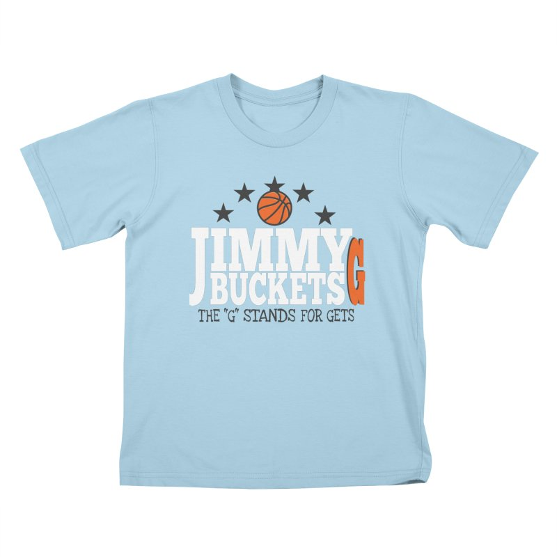 Jimmy G. Butler Kids T-Shirt by HIDENbehindAroc's Shop