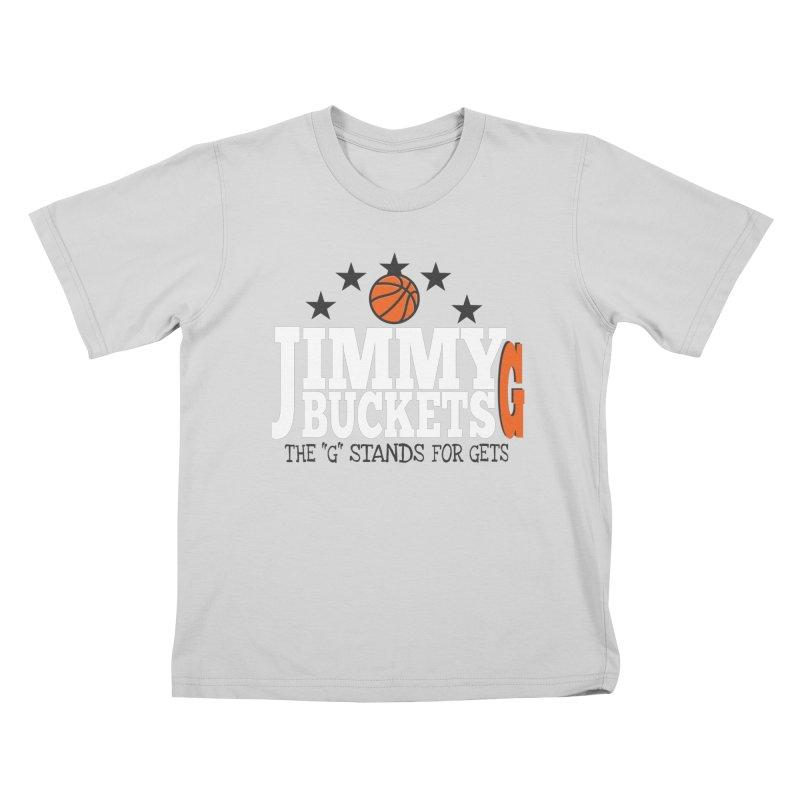 Jimmy G. Butler Kids T-Shirt by HIDENbehindAroc's Shop