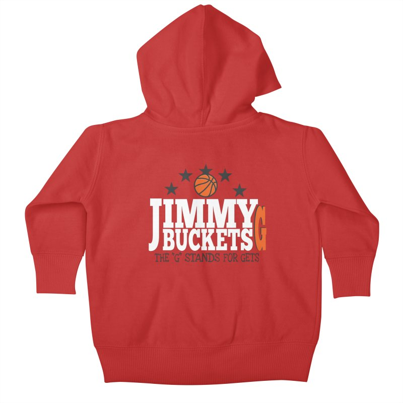 Jimmy G. Butler Kids Baby Zip-Up Hoody by HIDENbehindAroc's Shop