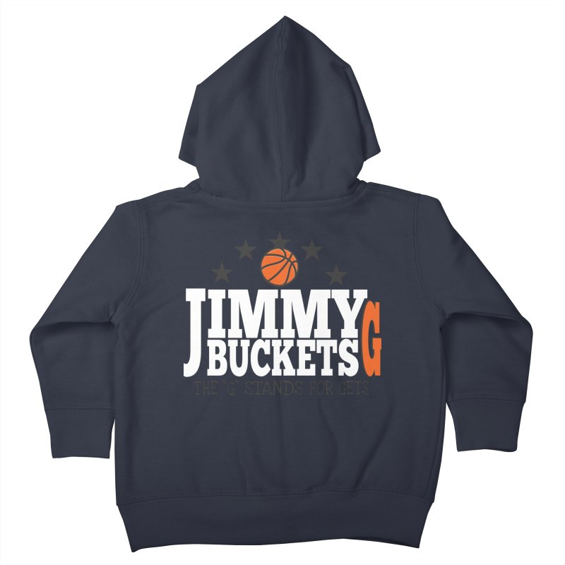 Jimmy G. Butler Kids Toddler Zip-Up Hoody by HIDENbehindAroc's Shop