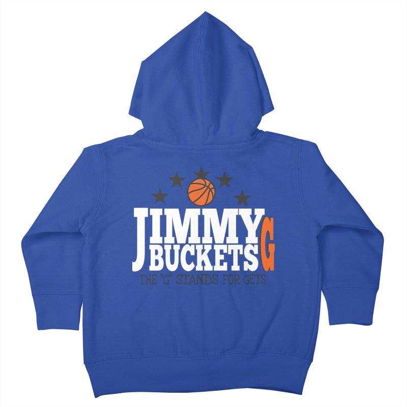 Jimmy G. Butler Kids Toddler Zip-Up Hoody by HIDENbehindAroc's Shop