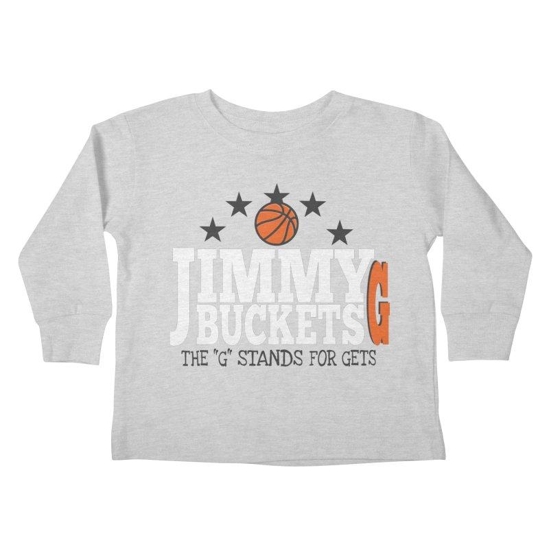 Jimmy G. Butler Kids Toddler Longsleeve T-Shirt by HIDENbehindAroc's Shop