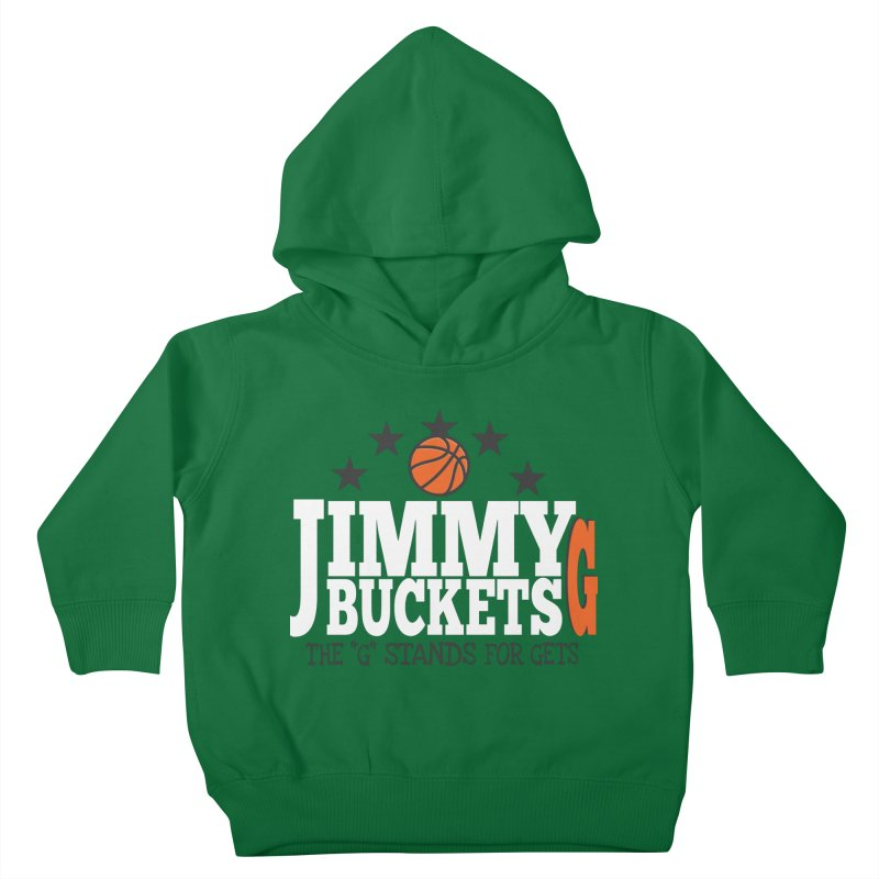 Jimmy G. Butler Kids Toddler Pullover Hoody by HIDENbehindAroc's Shop