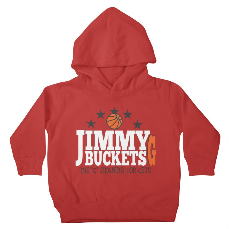Jimmy G. Butler Kids Toddler Pullover Hoody by HIDENbehindAroc's Shop