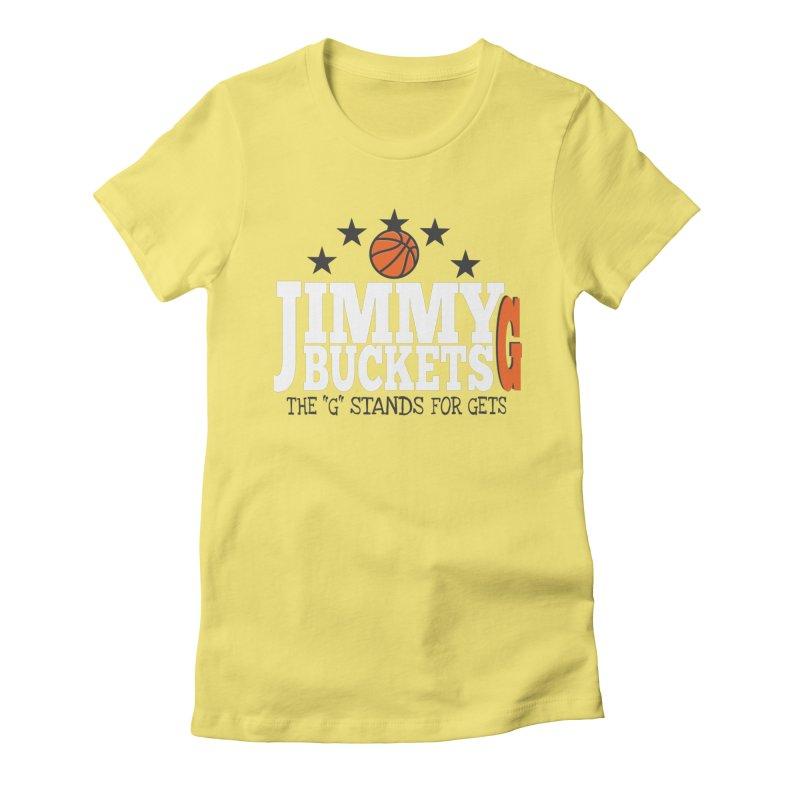 Jimmy G. Butler Women's Fitted T-Shirt by HIDENbehindAroc's Shop