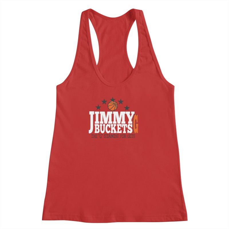Jimmy G. Butler Women's Racerback Tank by HIDENbehindAroc's Shop
