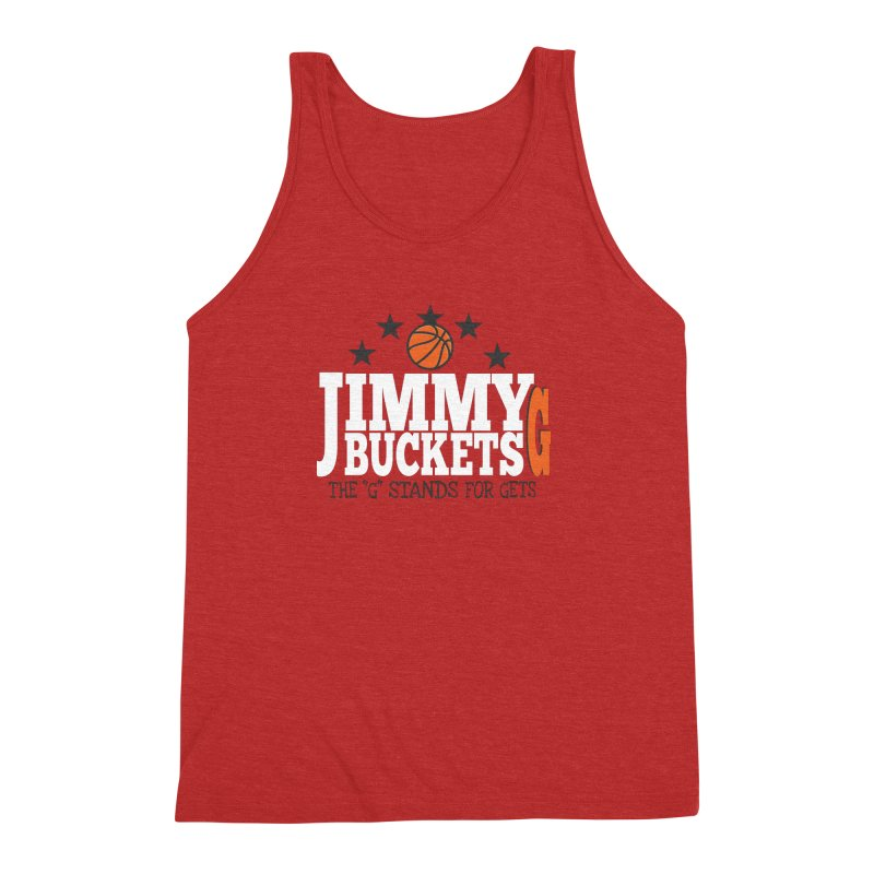 Jimmy G. Butler Men's Triblend Tank by HIDENbehindAroc's Shop