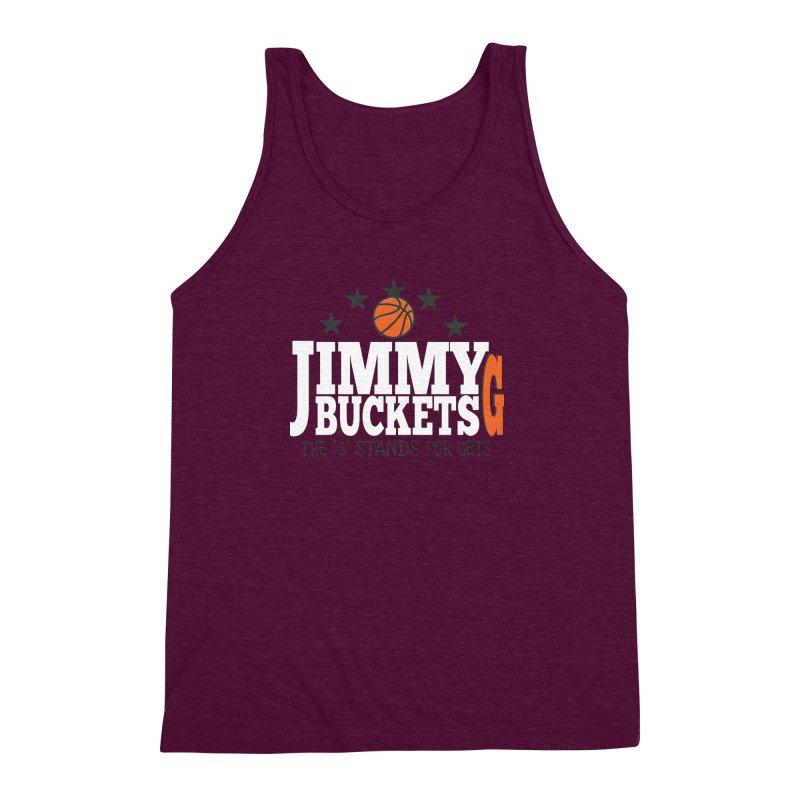 Jimmy G. Butler Men's Triblend Tank by HIDENbehindAroc's Shop