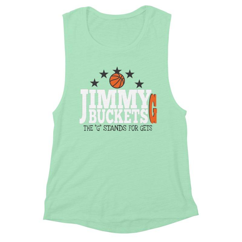 Jimmy G. Butler Women's Muscle Tank by HIDENbehindAroc's Shop