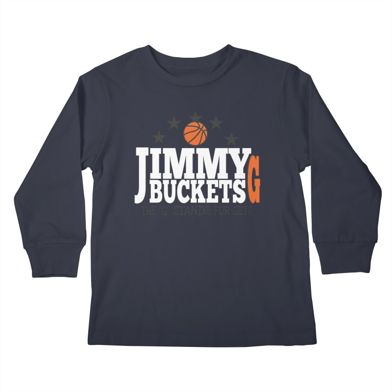 Jimmy G. Butler Kids Longsleeve T-Shirt by HIDENbehindAroc's Shop