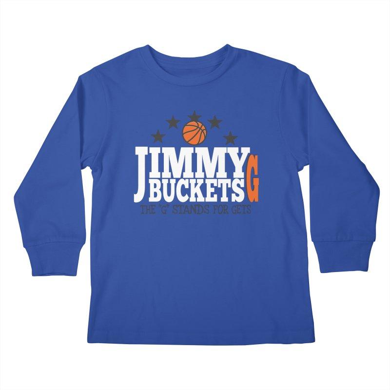 Jimmy G. Butler Kids Longsleeve T-Shirt by HIDENbehindAroc's Shop