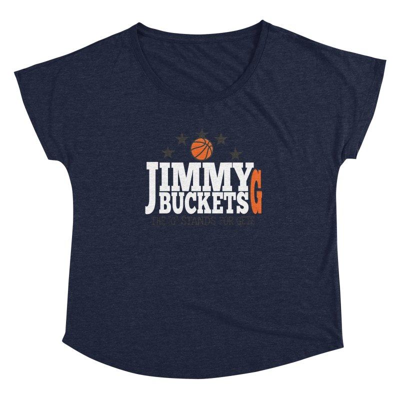 Jimmy G. Butler Women's Scoop Neck by HIDENbehindAroc's Shop