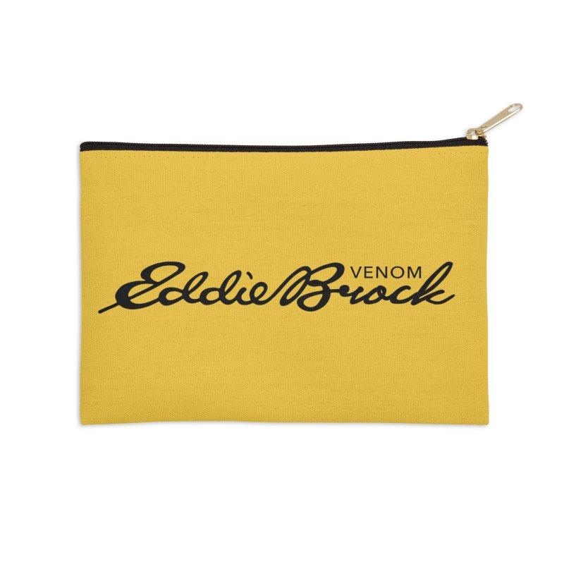 Eddie Brock Venom Accessories Zip Pouch by HIDENbehindAroc's Shop