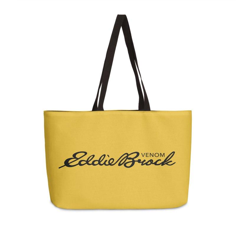 Eddie Brock Venom Accessories Weekender Bag Bag by HIDENbehindAroc's Shop
