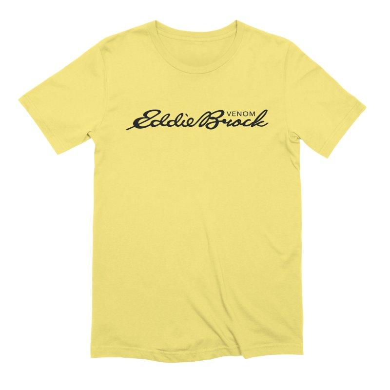 Eddie Brock Venom Men's Extra Soft T-Shirt by HIDENbehindAroc's Shop