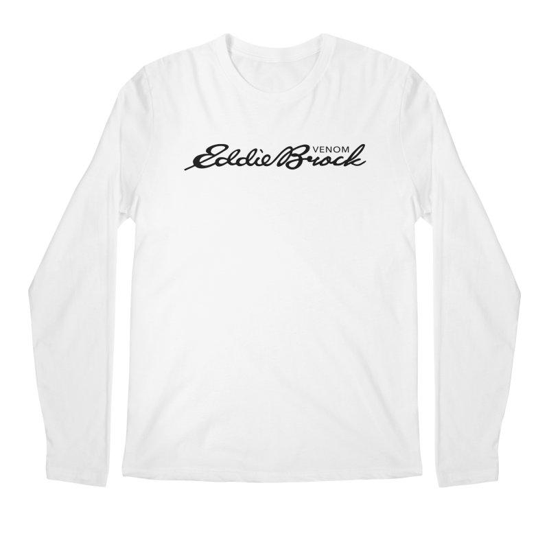Eddie Brock Venom Men's Regular Longsleeve T-Shirt by HIDENbehindAroc's Shop