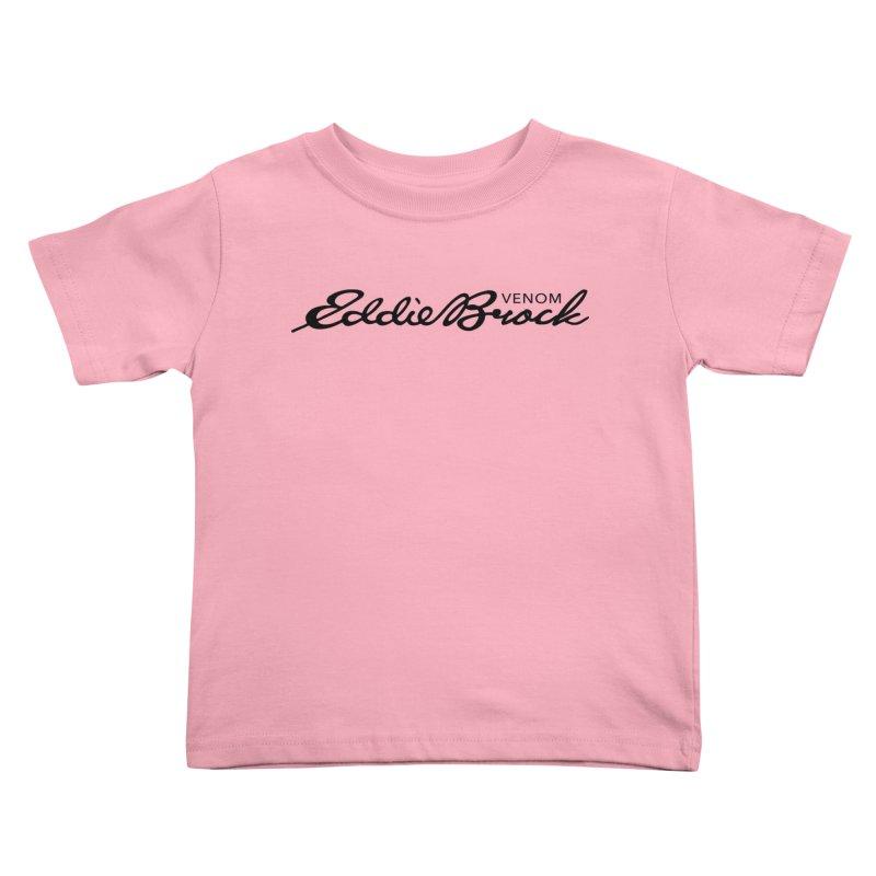 Eddie Brock Venom Kids Toddler T-Shirt by HIDENbehindAroc's Shop