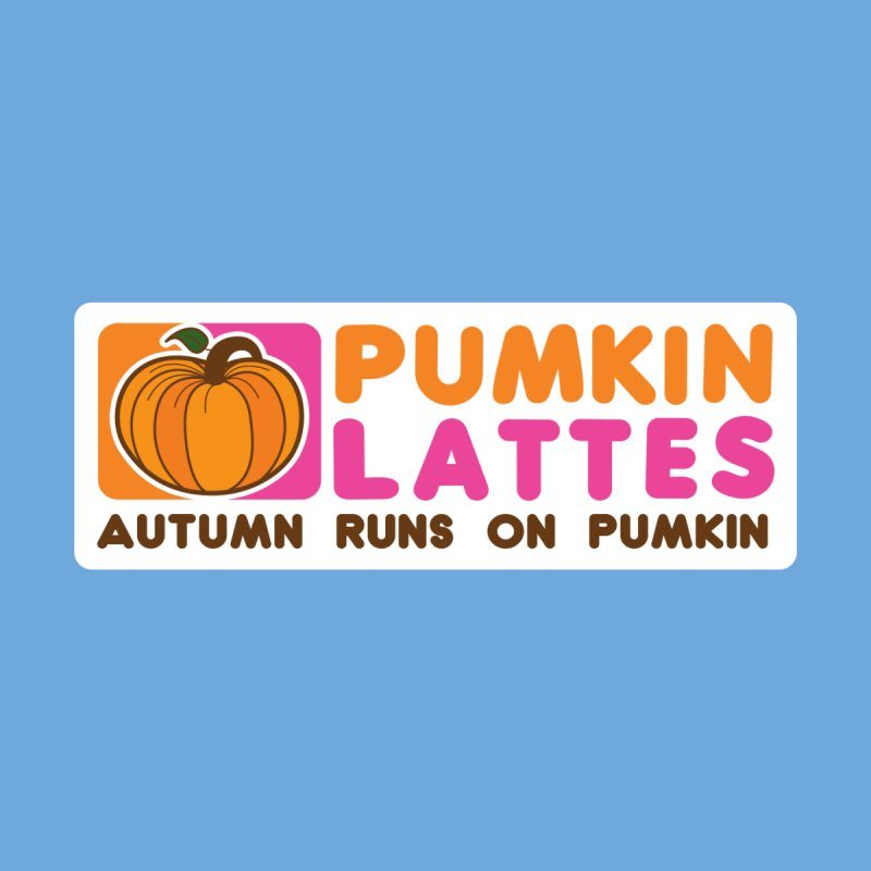 Pumpkin Lattes Accessories Sticker by HIDENbehindAroc's Shop