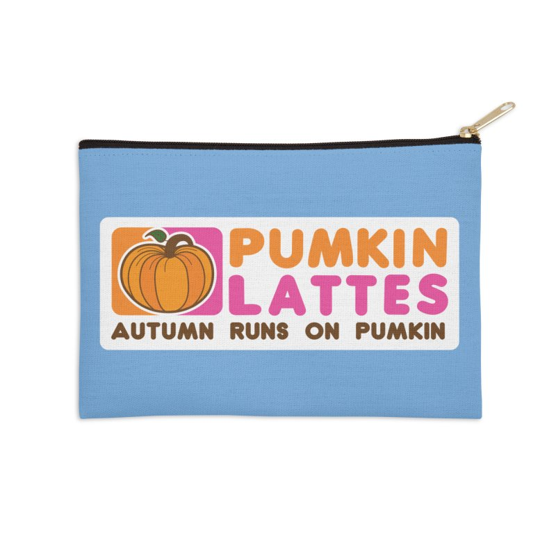Pumpkin Lattes Accessories Zip Pouch by HIDENbehindAroc's Shop