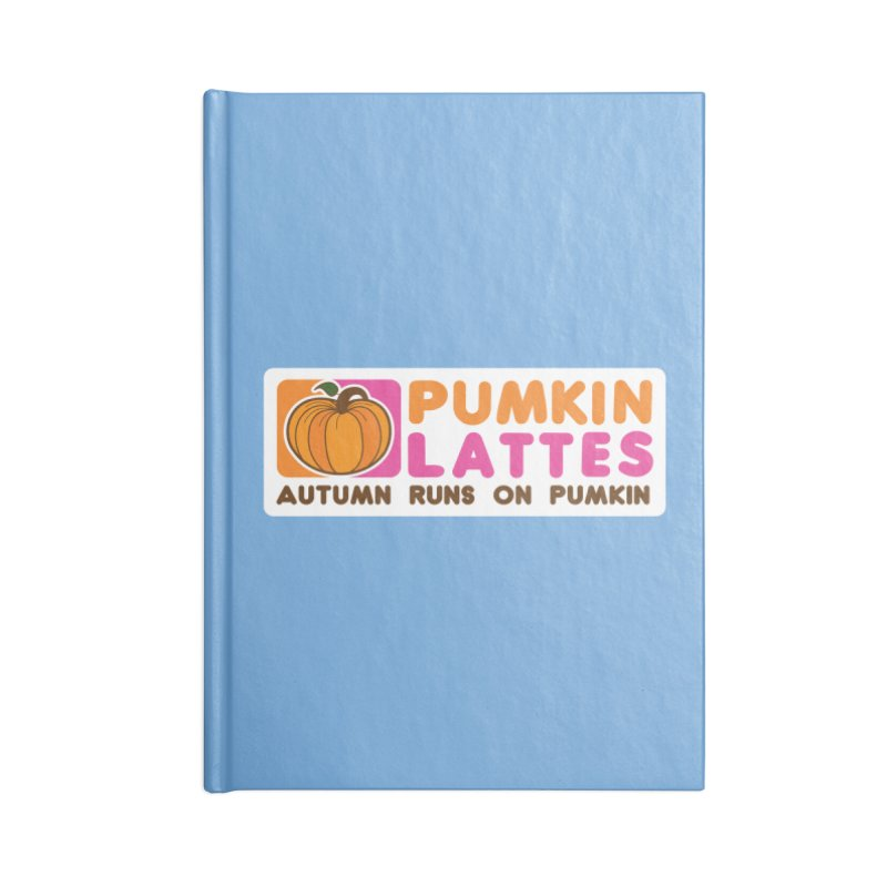 Pumpkin Lattes Accessories Blank Journal Notebook by HIDENbehindAroc's Shop
