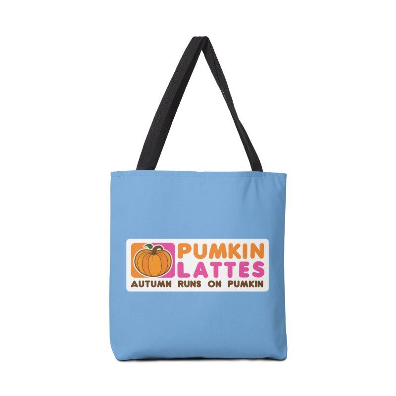 Pumpkin Lattes Accessories Tote Bag Bag by HIDENbehindAroc's Shop