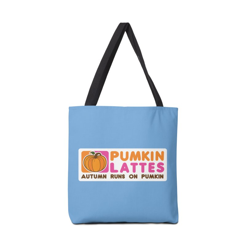 Pumpkin Lattes Accessories Bag by HIDENbehindAroc's Shop