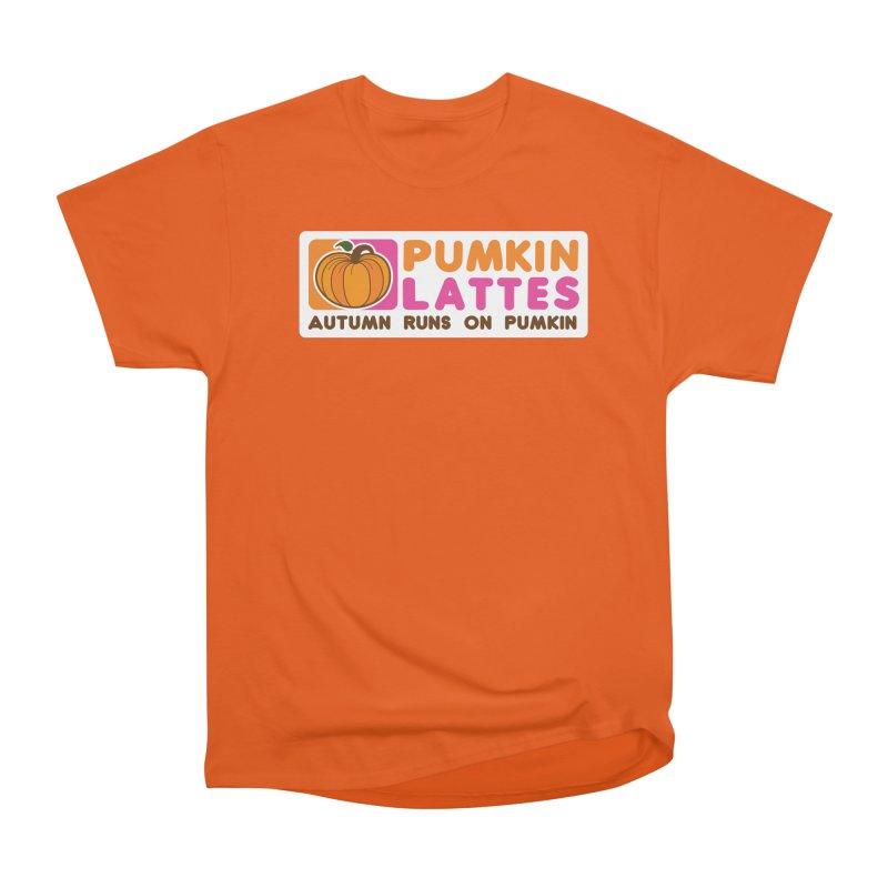 Pumpkin Lattes Women's T-Shirt by HIDENbehindAroc's Shop