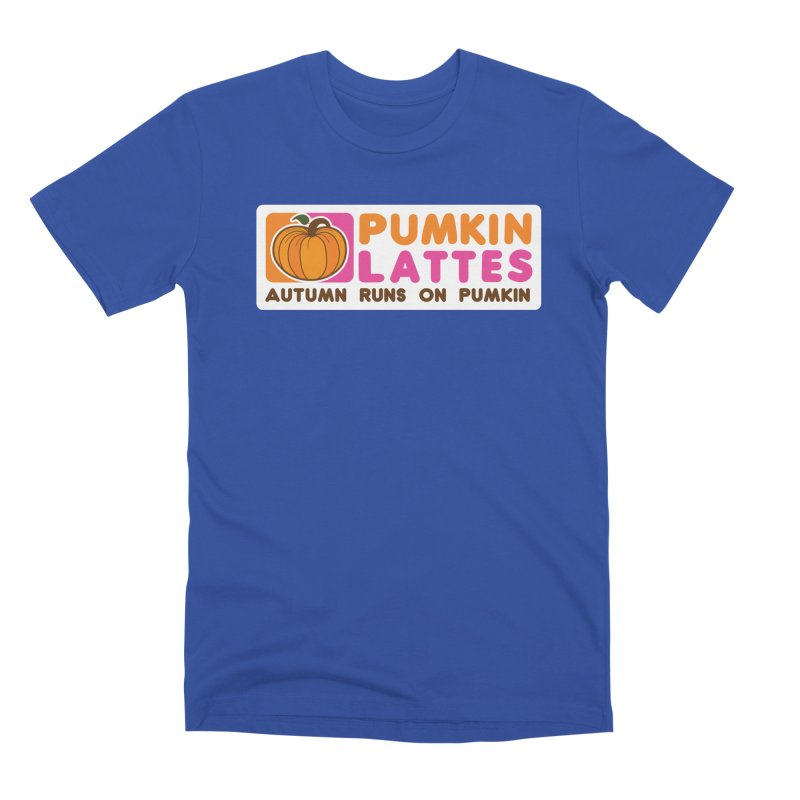 Pumpkin Lattes Men's Premium T-Shirt by HIDENbehindAroc's Shop
