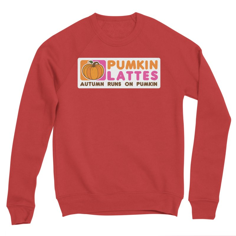 Pumpkin Lattes Women's Sponge Fleece Sweatshirt by HIDENbehindAroc's Shop