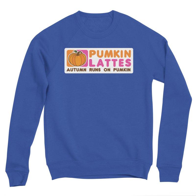 Pumpkin Lattes Men's Sweatshirt by HIDENbehindAroc's Shop
