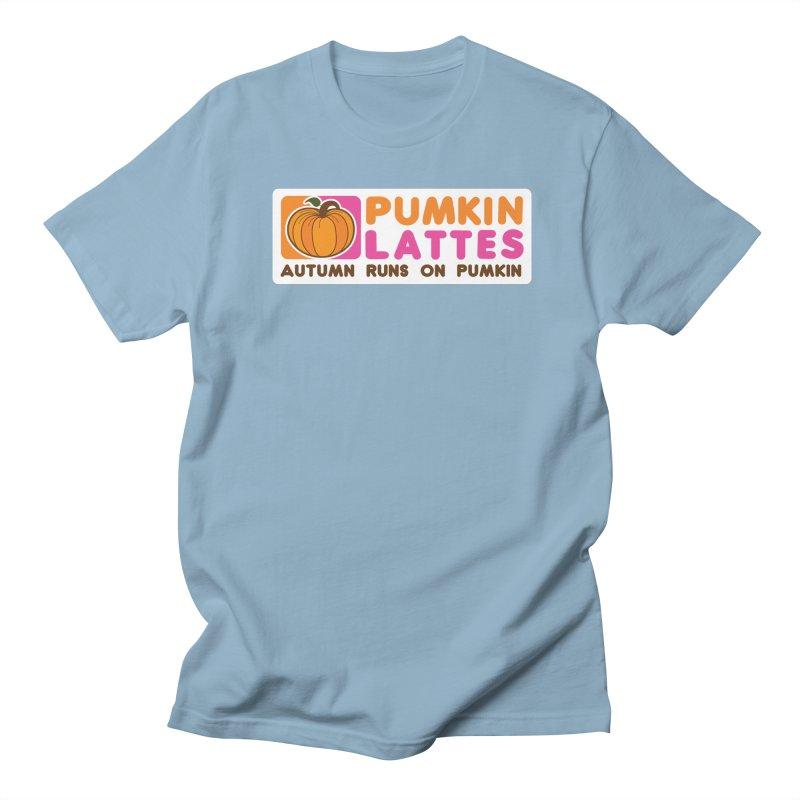 Pumpkin Lattes Women's Regular Unisex T-Shirt by HIDENbehindAroc's Shop