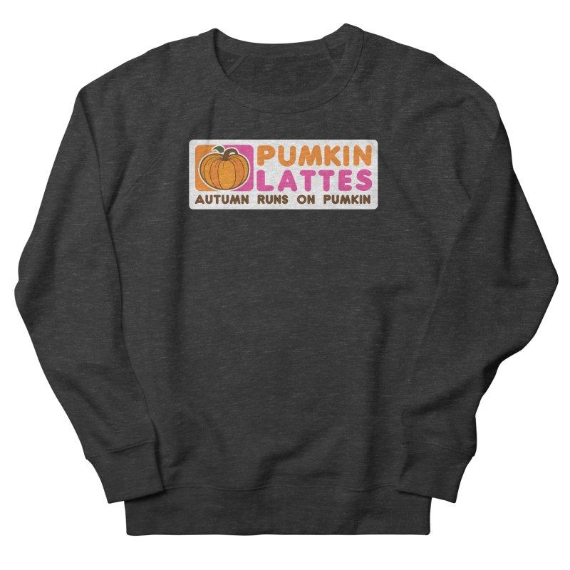 Pumpkin Lattes Women's French Terry Sweatshirt by HIDENbehindAroc's Shop