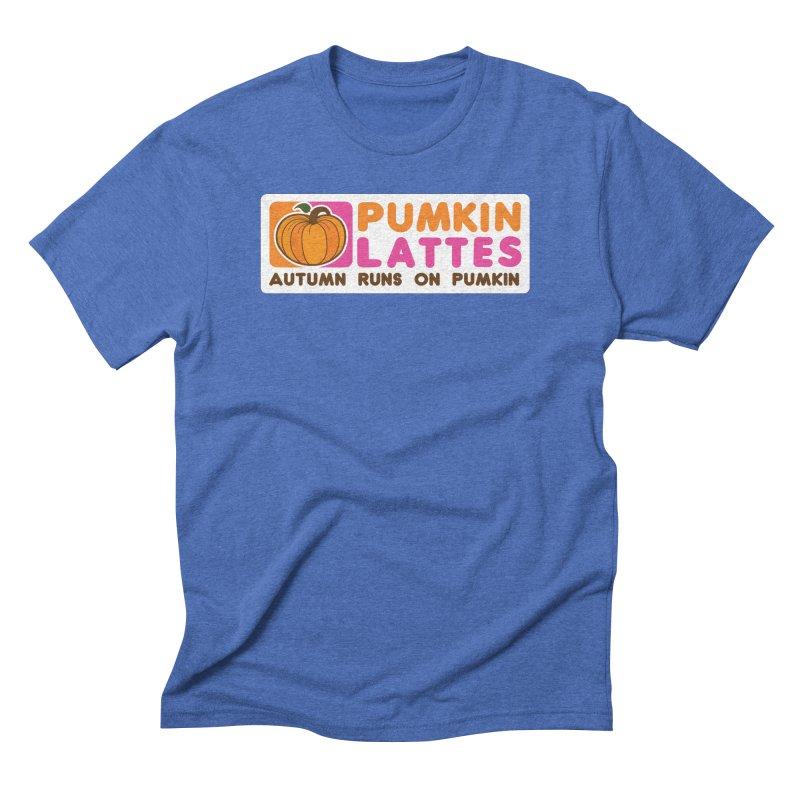 Pumpkin Lattes Men's T-Shirt by HIDENbehindAroc's Shop