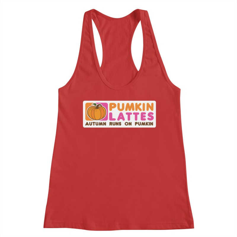 Pumpkin Lattes Women's Tank by HIDENbehindAroc's Shop