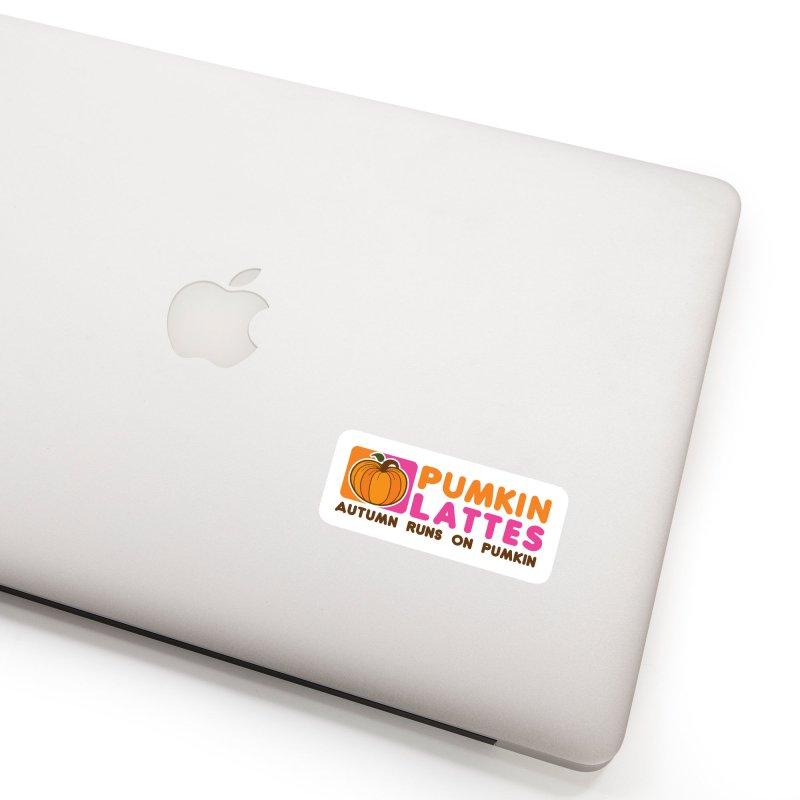 Pumpkin Lattes Accessories Sticker by HIDENbehindAroc's Shop