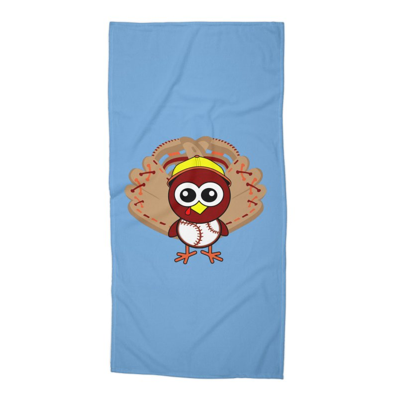 Turkey Time! Accessories Beach Towel by HIDENbehindAroc's Shop