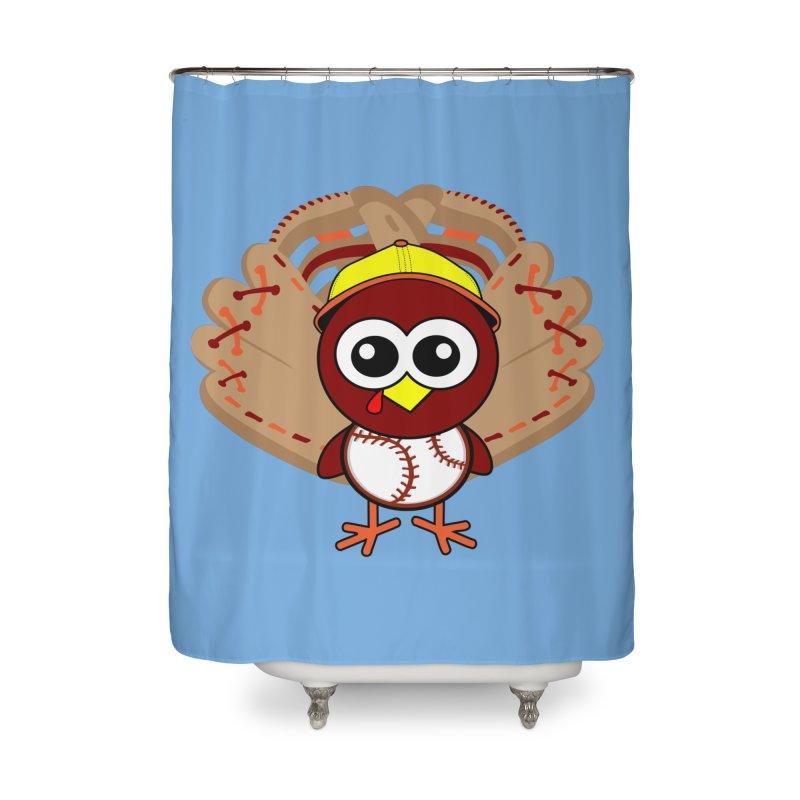 Turkey Time! Home Shower Curtain by HIDENbehindAroc's Shop