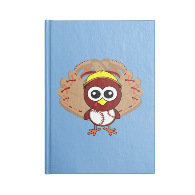 Turkey Time! Accessories Lined Journal Notebook by HIDENbehindAroc's Shop