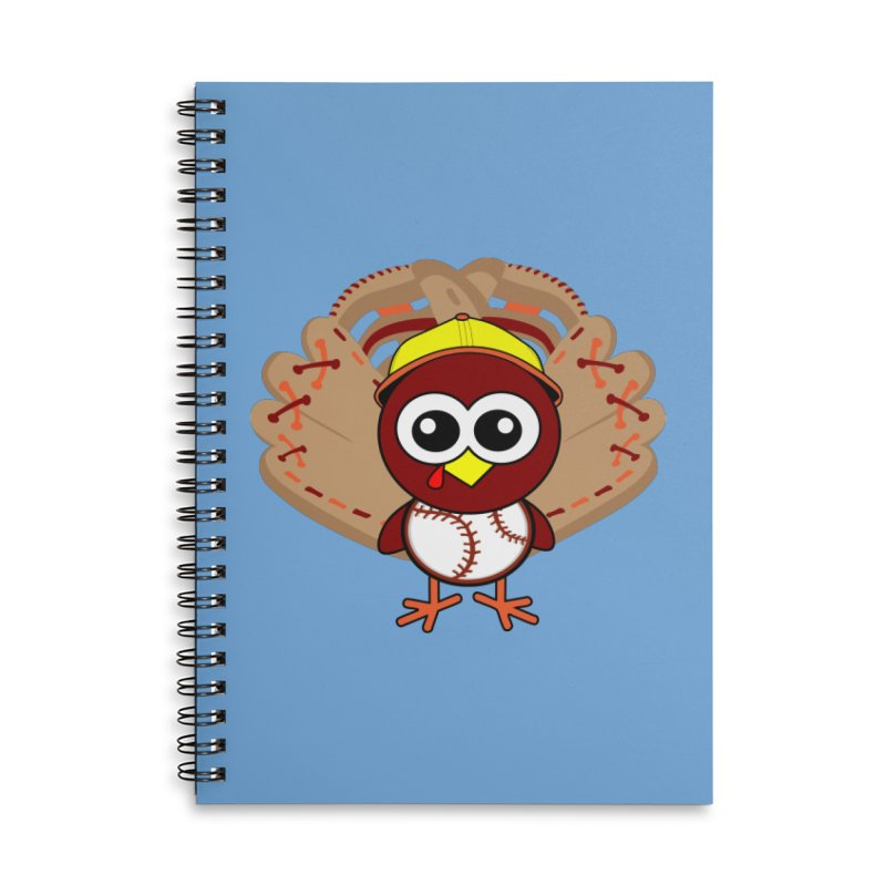 Turkey Time! Accessories Lined Spiral Notebook by HIDENbehindAroc's Shop