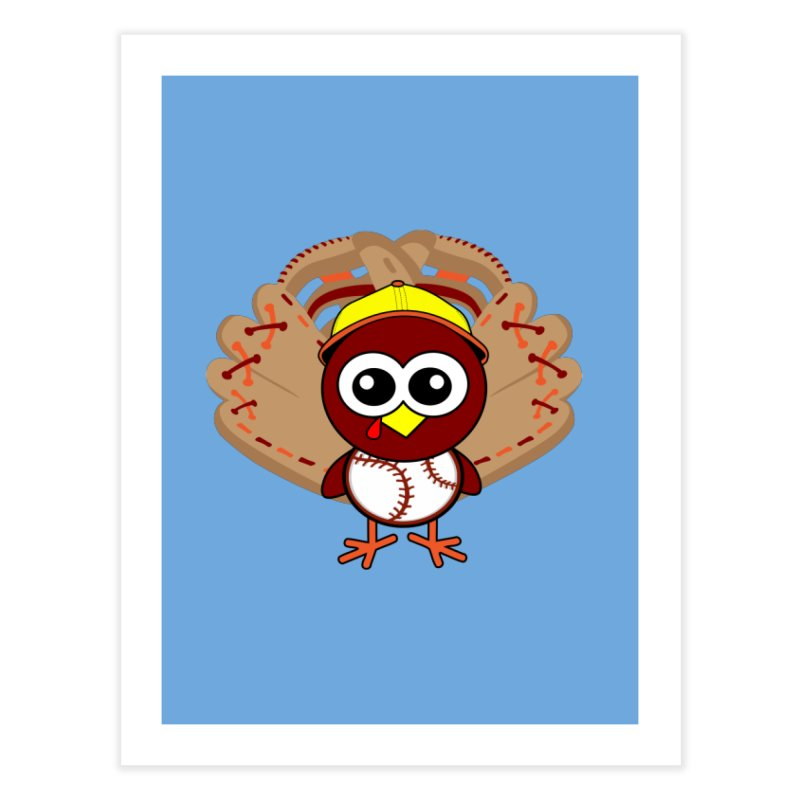 Turkey Time! Home Fine Art Print by HIDENbehindAroc's Shop