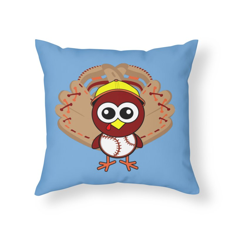 Turkey Time! Home Throw Pillow by HIDENbehindAroc's Shop