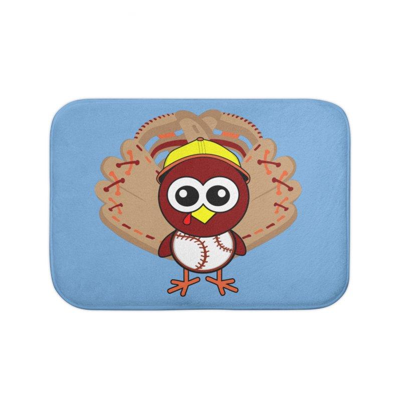 Turkey Time! Home Bath Mat by HIDENbehindAroc's Shop