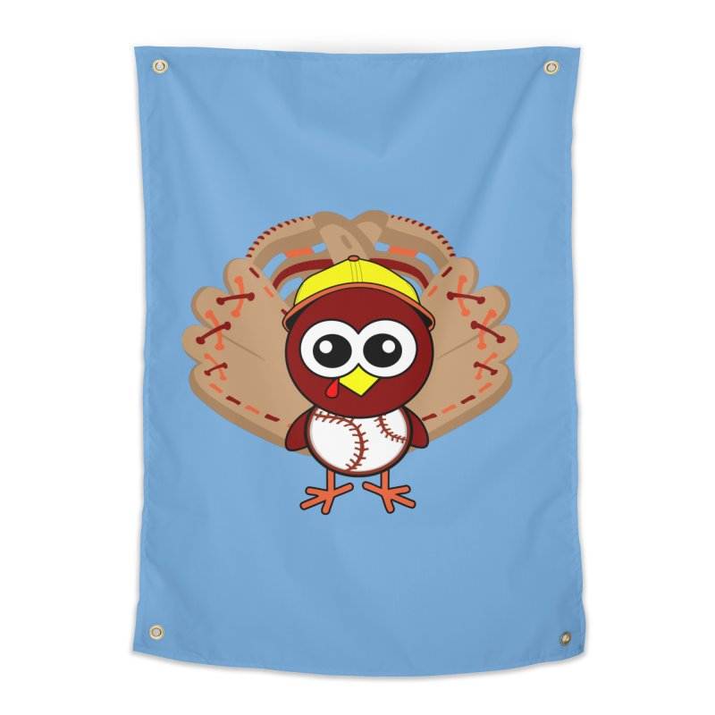 Turkey Time! Home Tapestry by HIDENbehindAroc's Shop